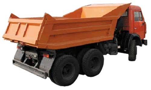 предоставляет услуги  самосвалов для транспортировки песка, щебня, грунта и других строительных материалов